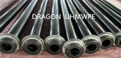 Wear resistant UHMWPE pipe