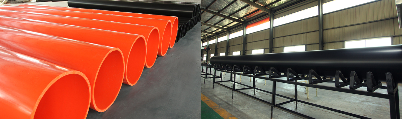 Application of UHMWPE pipe