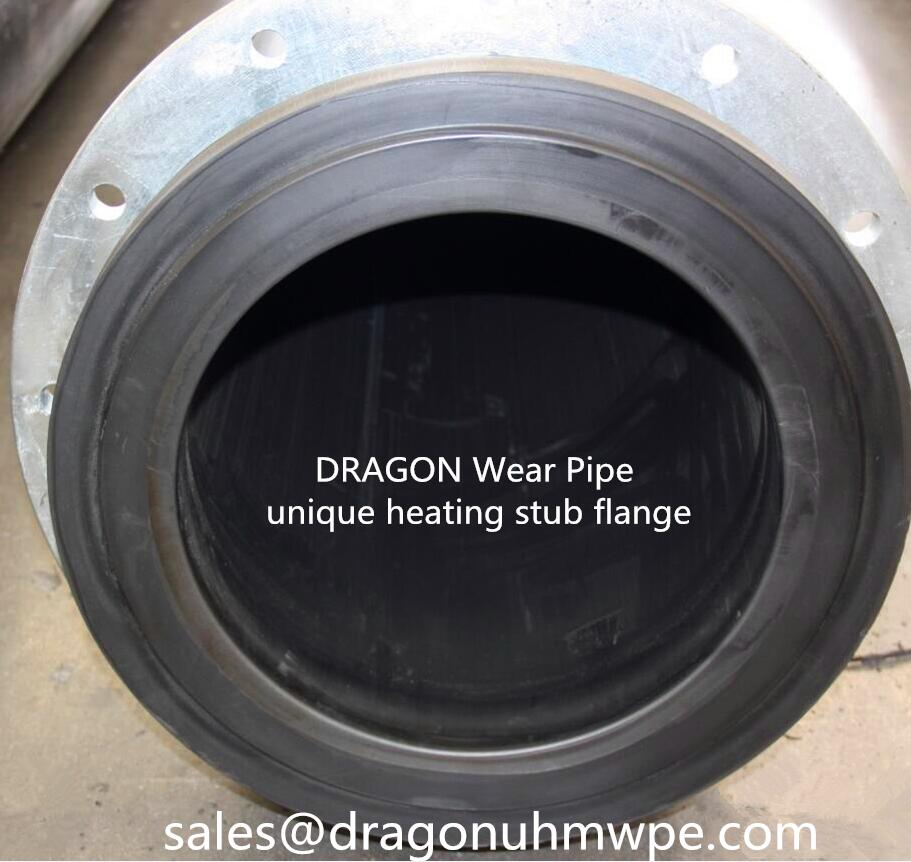 unique UHMWPE stub flange